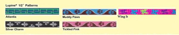 "Lupine Leashes - 1/2"" Padded Handle"